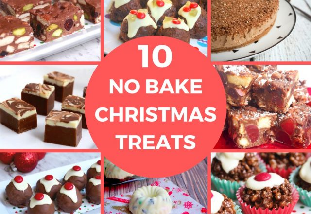 10 No Bake Christmas Treats