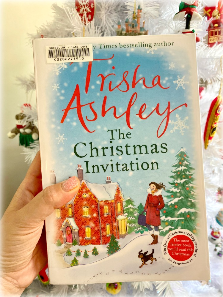 book cover of the Christmas invitation