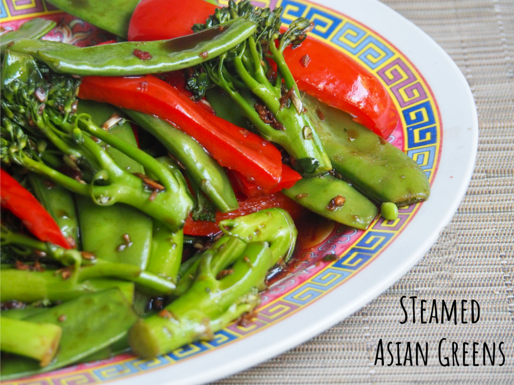Steamed Asian Veggies