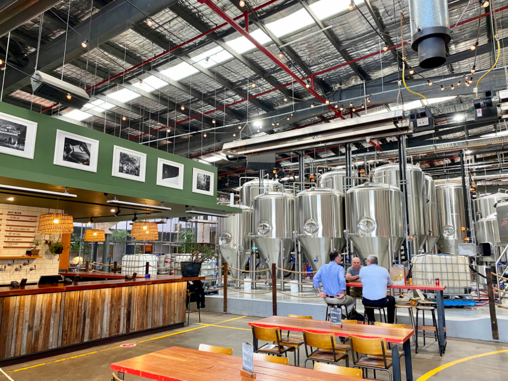 capital brewing taproom