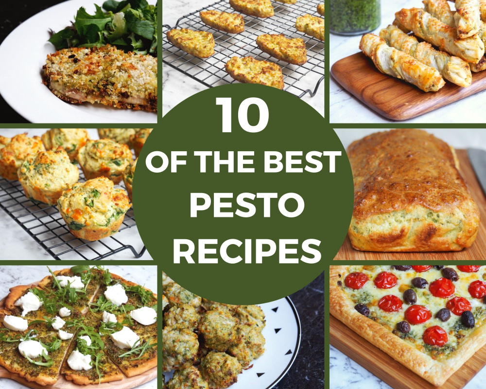10 of the best pesto recipes title image