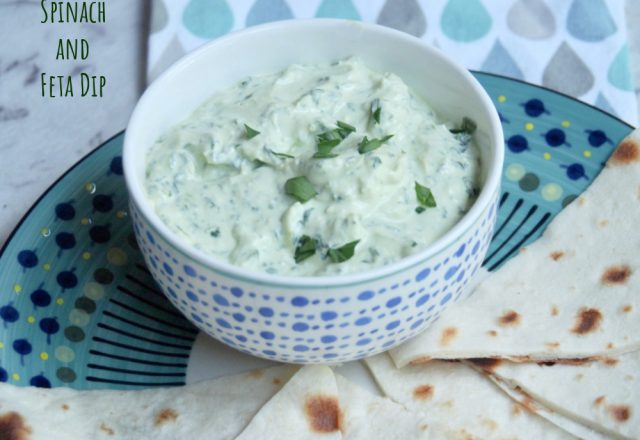 Warm Spinach and Feta Dip