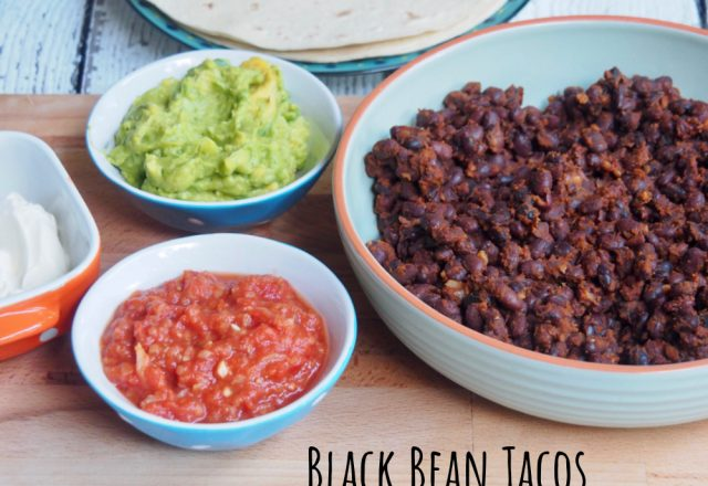 Meatless Monday – Black Bean Tacos