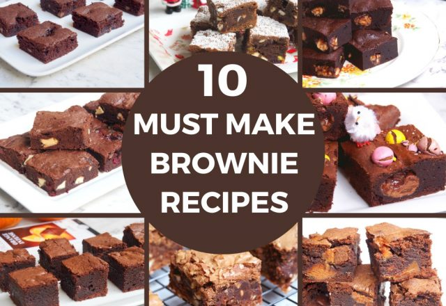 10 Must Make Brownie Recipes