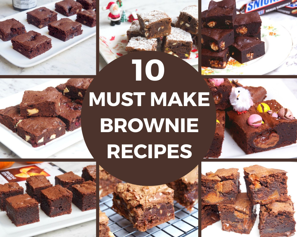 10 must make brownie recipes title