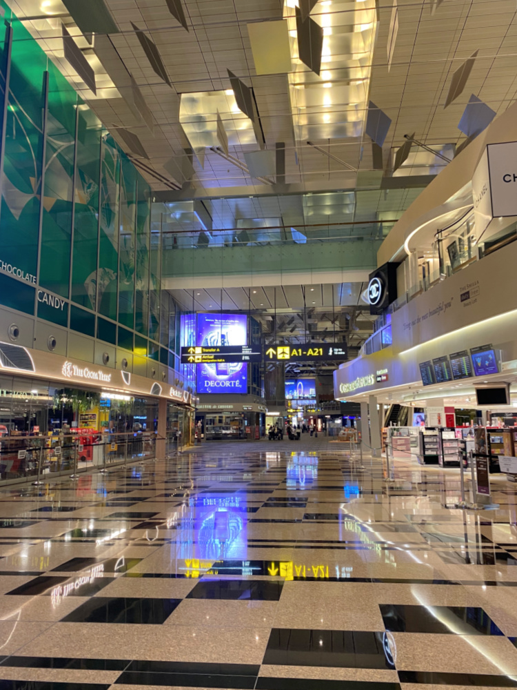 Changi airport 2021