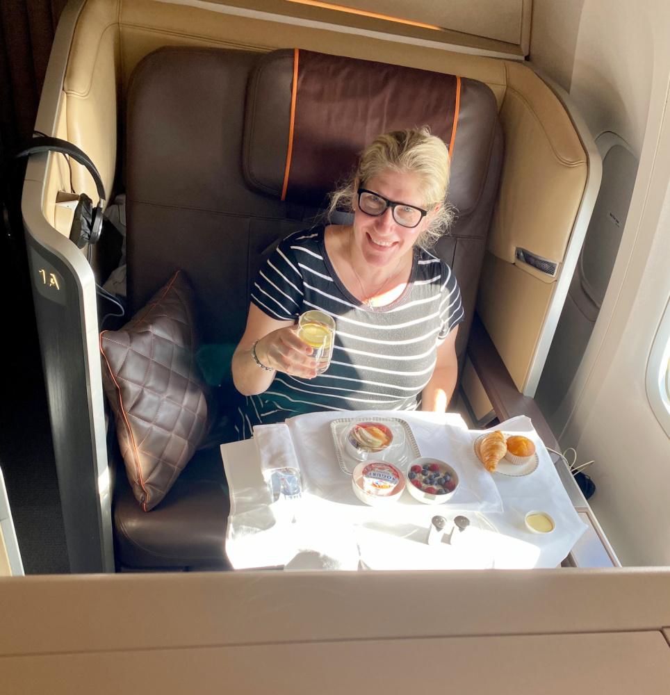first class singapore air