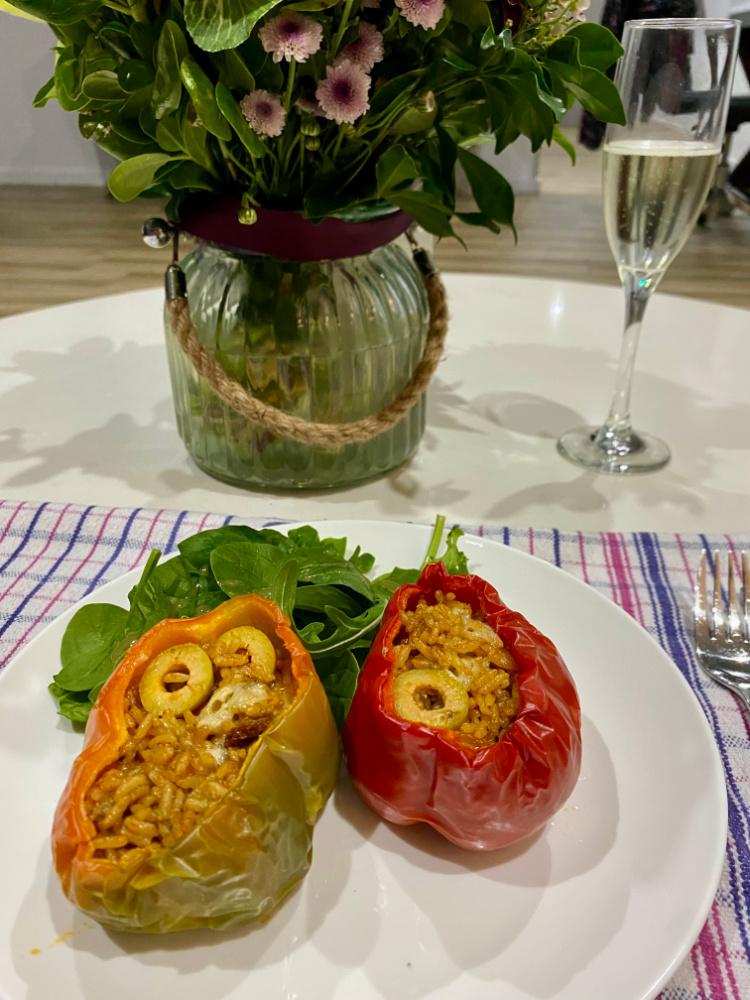microwave stuffed peppers