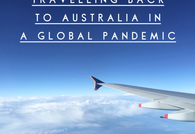 Travelling to Australia in a Global Pandemic