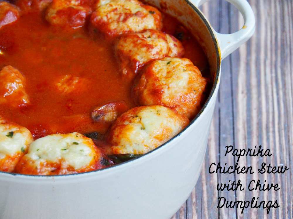 paprika chicken stew with chive dumplings text