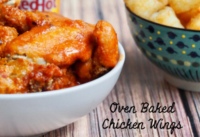 Lucy's Oven Baked Chicken Wings with Blue Cheese Sauce