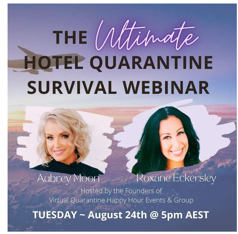 ultimate hotel quarantine survival webinar