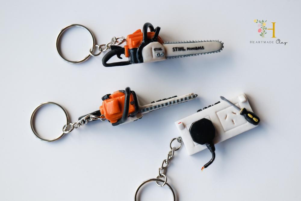 polymer tools key rings