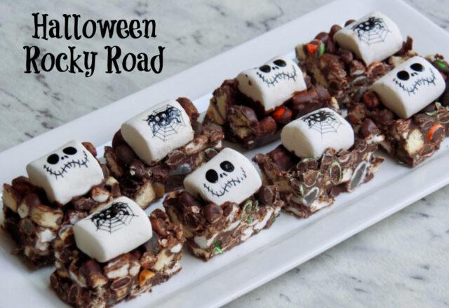 Eerie-Sistable Halloween Rocky Road