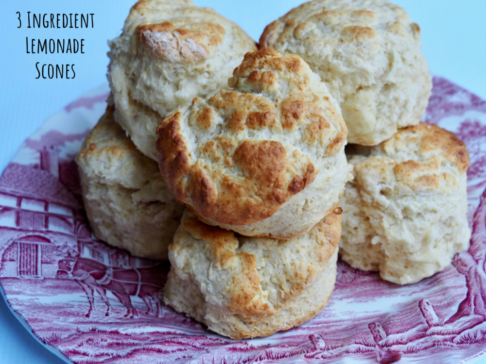 picture of scones on a plate